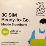 3G SIM от 3UK