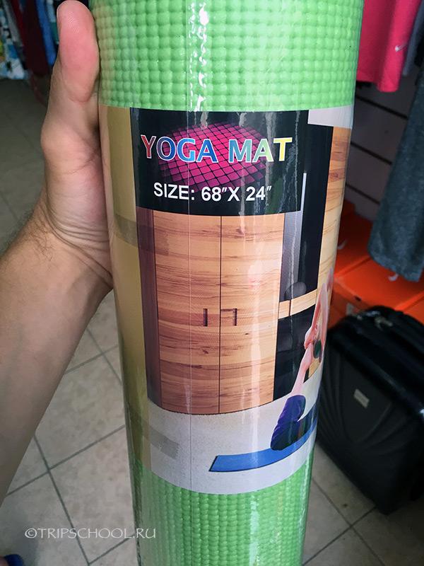 Коврик для йоги батуми
