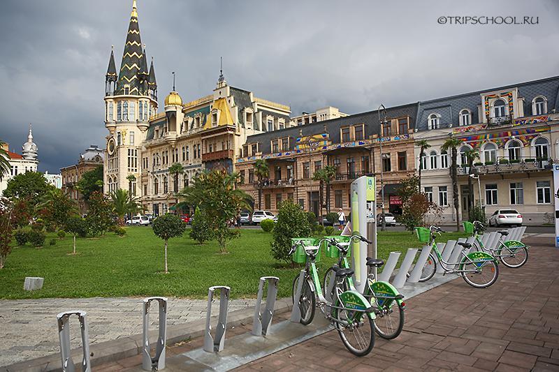 Велосипедная станция Батуми
